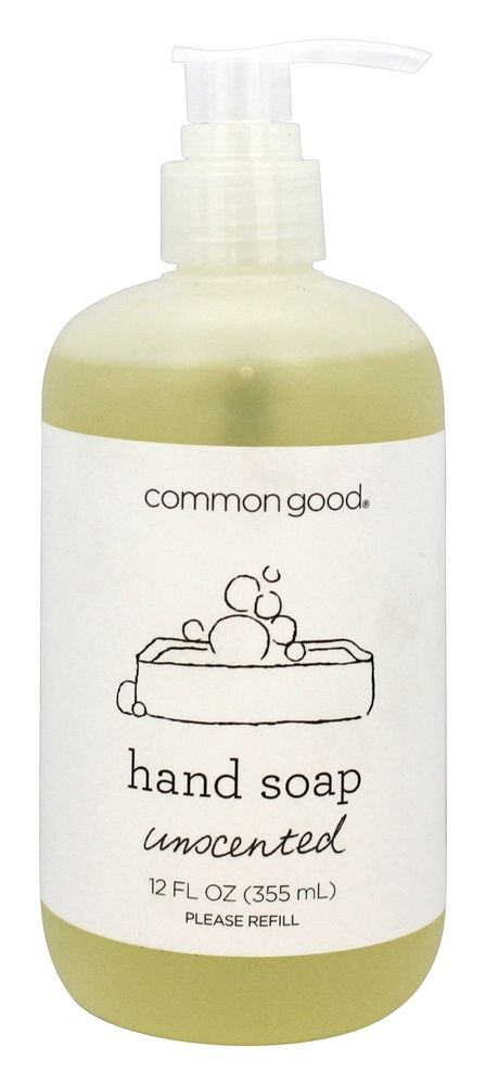 Common Good - Hand Soap Unscented - 12 oz.