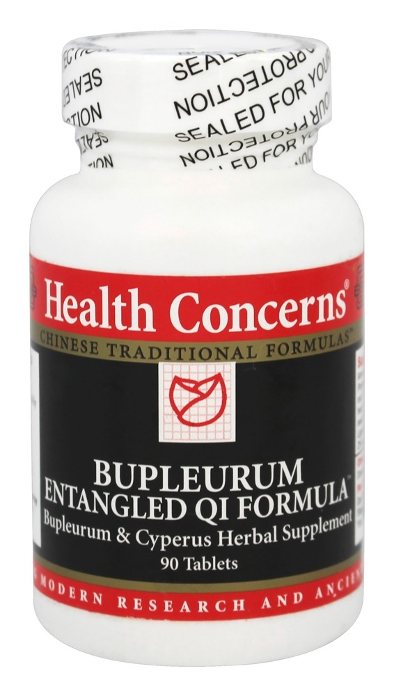 Health Concerns - Bupleurum Entangled QI Formula - 90 Tablet(s)