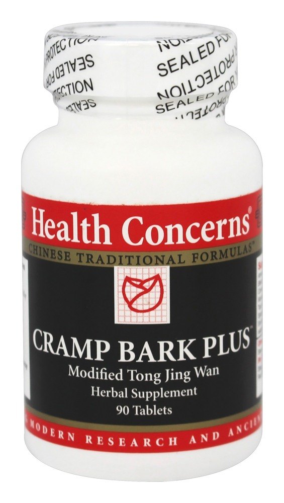Health Concerns - Cramp Bark Plus - 90 Tablet(s)