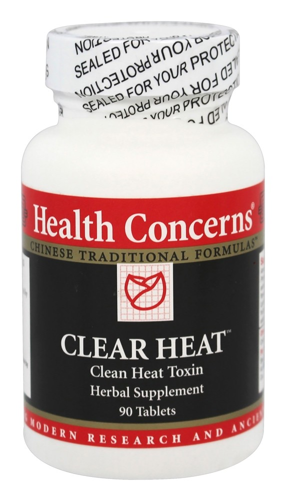 Health Concerns - Clear Heat - 90 Tablet(s)