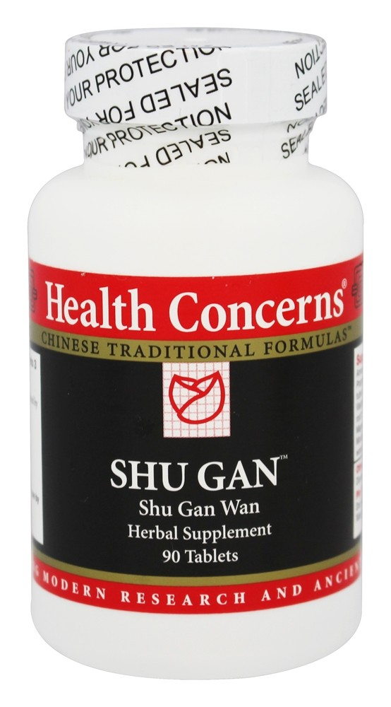 Health Concerns - Shu Gan - 90 Tablet(s)