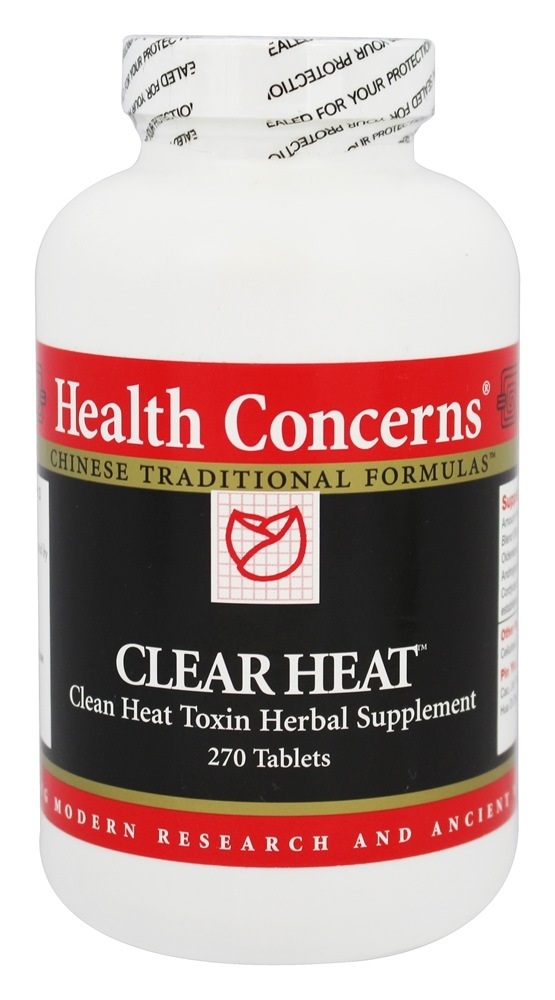 Health Concerns - Clear Heat - 270 Tablet(s)