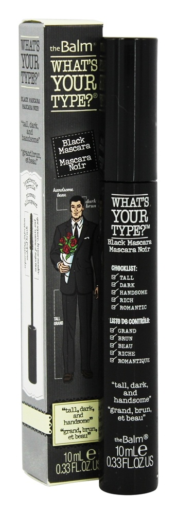 theBalm - What's Your Type? Mascara Tall, Dark and Handsome Black - 0.33 oz.