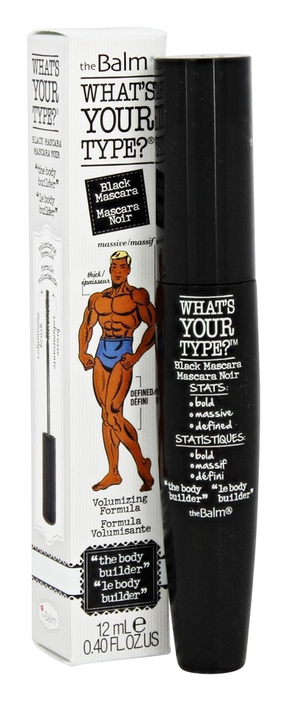 theBalm - What's Your Type? Mascara The Body Builder Black - 0.4 oz.