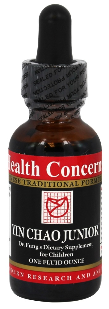 Health Concerns - Yin Chao Junior for Children - 1 oz.