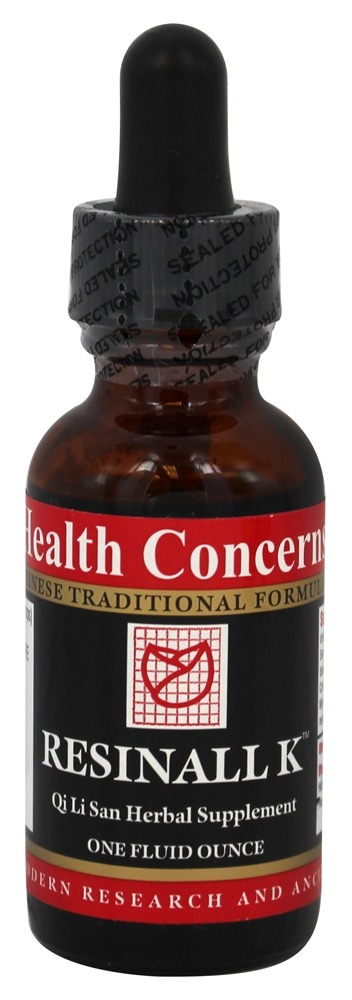 Health Concerns - Resinall K - 1 oz.