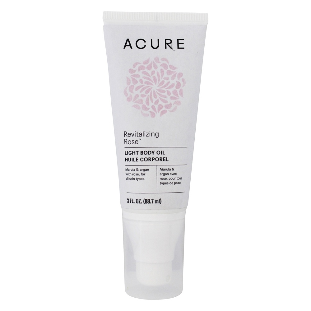 ACURE - Marula + Argan Dry Oil Body Spray Rose - 2 oz.