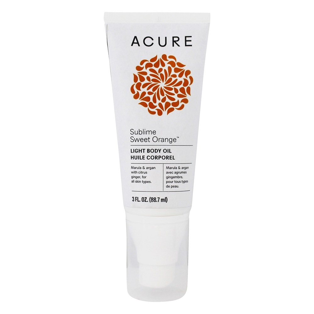 ACURE - Marula + Argan Dry Oil Body Spray Citrus Ginger - 2 oz.