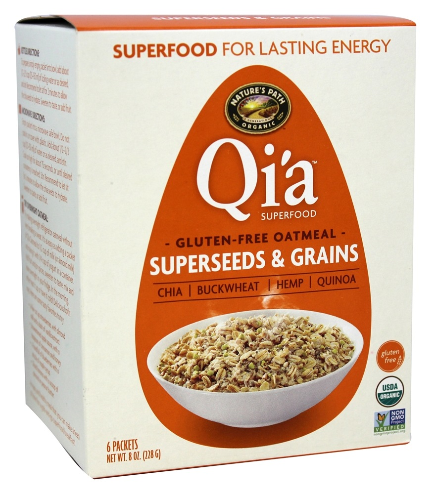 Nature's Path Organic - Qi'a Superfood Oatmeal Superseeds and Grains - 6 Packet(s)