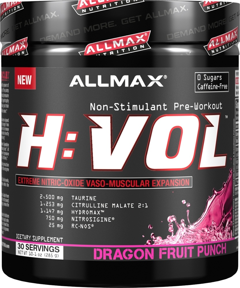 AllMax Nutrition - HVOL Hemanovol Ultra Concentrated Dragon Fruit Punch - 10.1 oz.