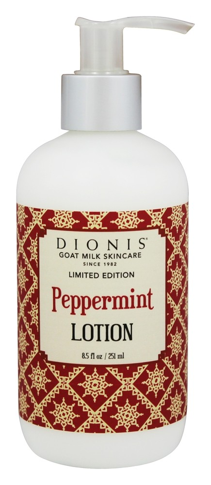 Dionis Goat Milk Skincare - Lotion Peppermint - 8.5 oz. Limited Edition