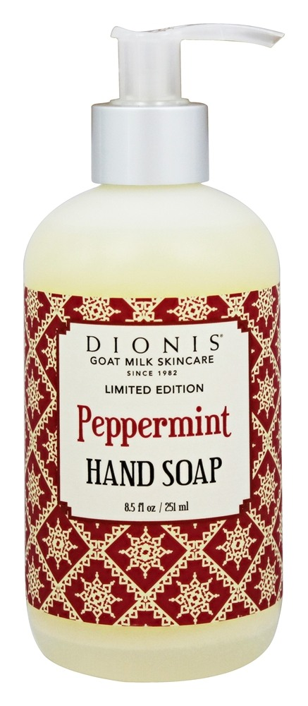 Dionis Goat Milk Skincare - Liquid Hand Soap Peppermint - 8.5 oz. Limited Edition