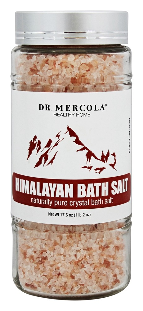 Dr. Mercola Premium Products - Himalayan Bath Salt - 17.6 oz.