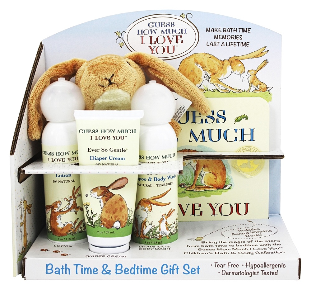Guess How Much I Love You - Bath Time & Bedtime Gift Set - 5 Piece(s)