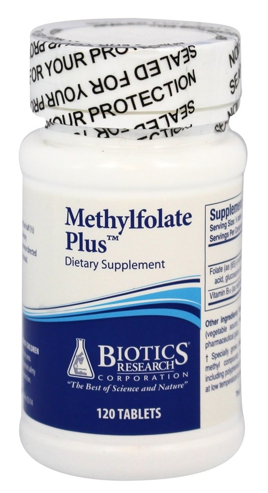 Biotics Research - Methylfolate Plus 400 mcg. - 120 Tablets