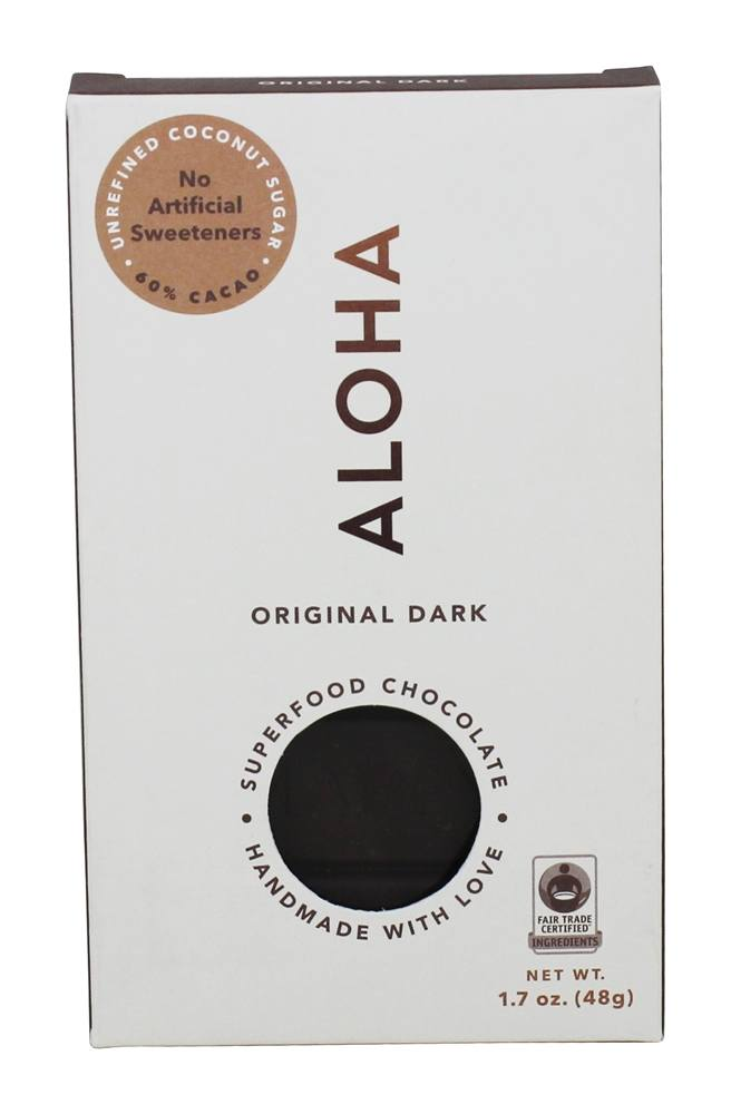Aloha - Superfood Chocolate Bar Original Dark - 1.7 oz.