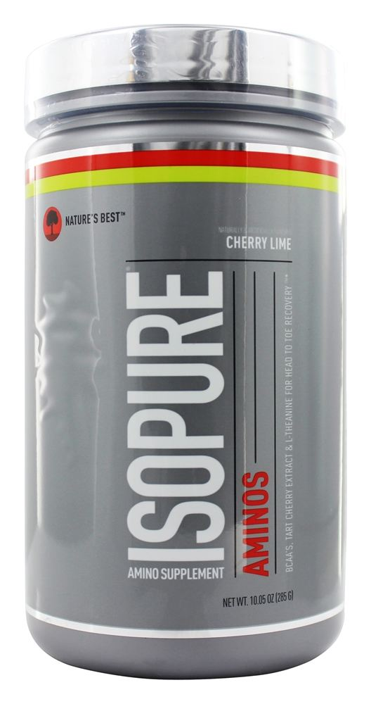Nature's Best - Isopure Aminos Supplement Cherry Lime - 10.05 oz.