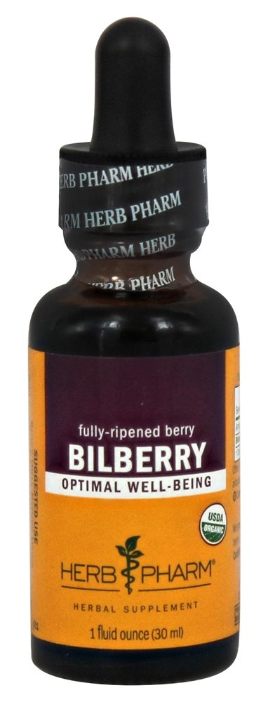 Herb Pharm - Bilberry Extract - 1 oz.