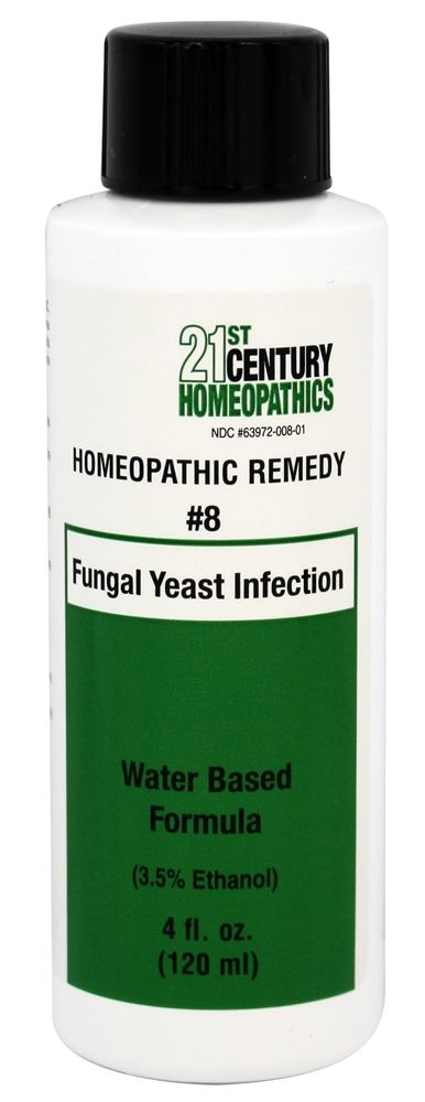 Biotics Research - 21st Century Homeopathics Remedy #8 Fungal Yeast Infection - 4 oz.