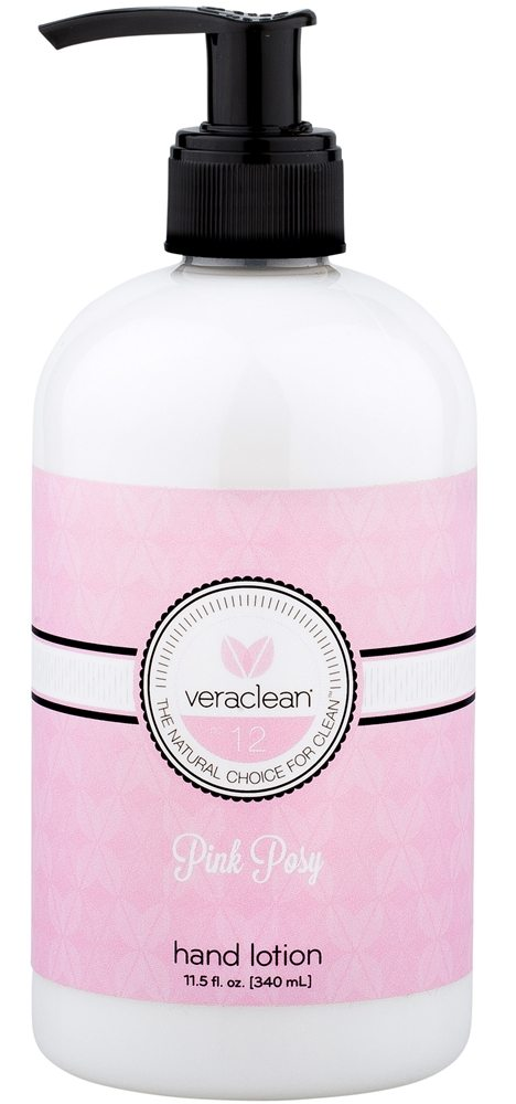 VeraClean - Hand Lotion Pink Posy - 11.5 oz.