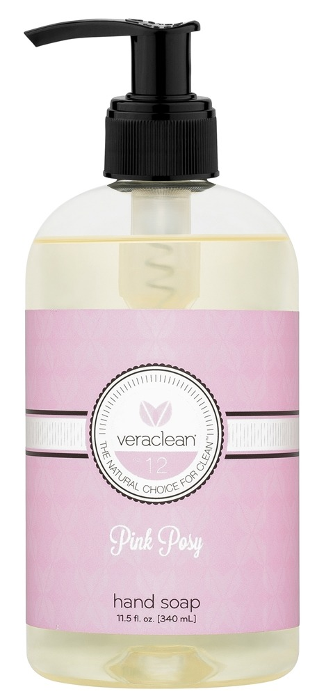 VeraClean - Hand Soap Pink Posy - 11.5 oz.