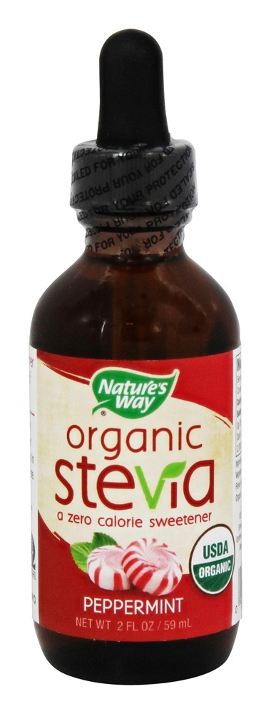 Nature's Way - Organic Stevia Peppermint - 2 oz.
