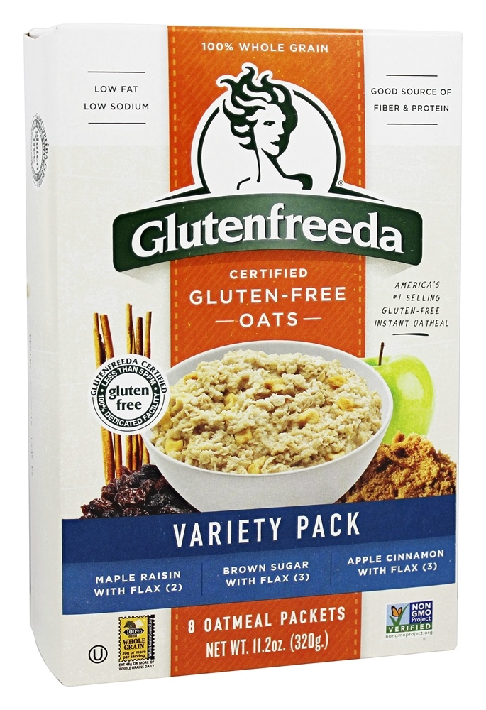 Glutenfreeda - Instant Oatmeal Variety Pack - 8 Packet(s)