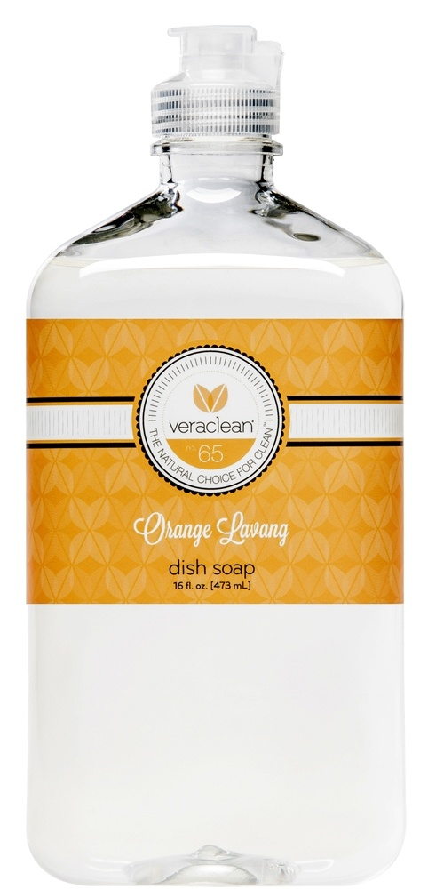 VeraClean - Dish Soap Orange Lavang - 16 oz.