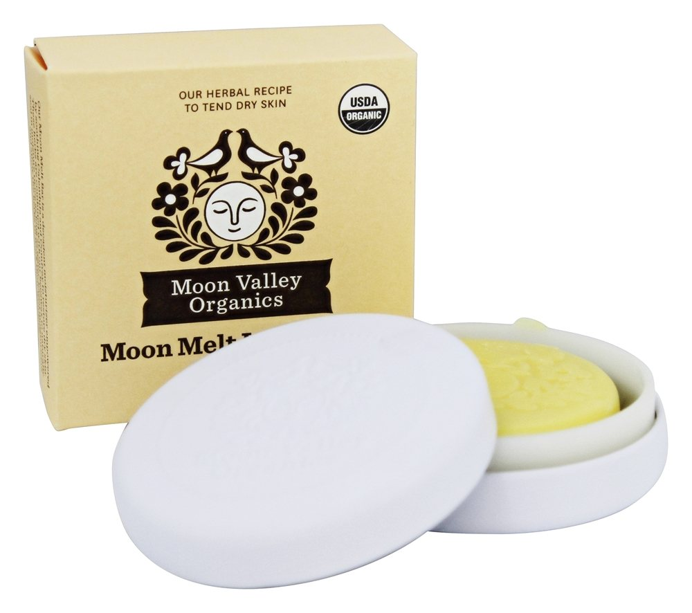Moon Valley Organics - Moon Melt Lotion Bar Coconut Lemon - 1.9 oz.