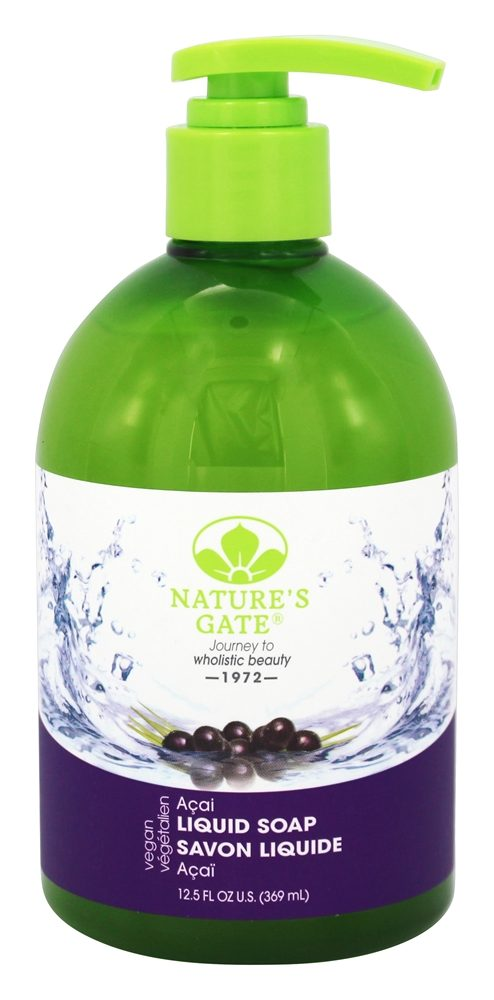 Nature's Gate - Liquid Soap Acai - 12.5 oz.