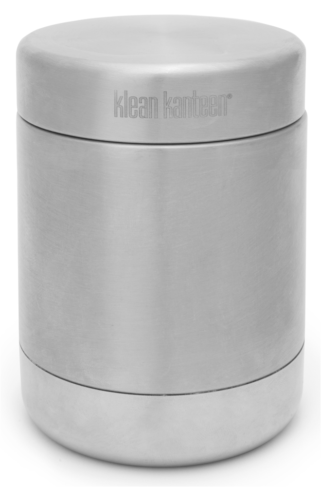 Klean Kanteen - Stainless Steel Food Cannister with Stainless Lid Brushed Stainless - 16 oz.