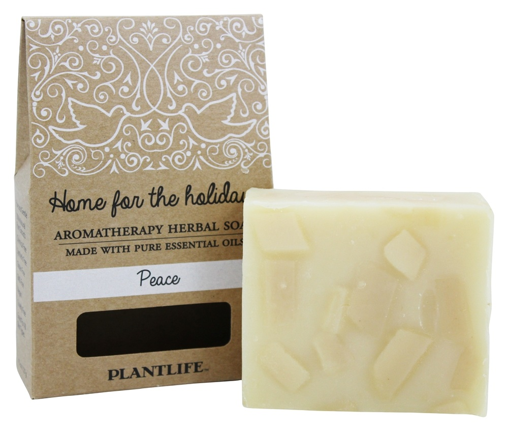 Plantlife Natural Body Care - Aromatherapy Herbal Bar Soap Peace - 4.5 oz.
