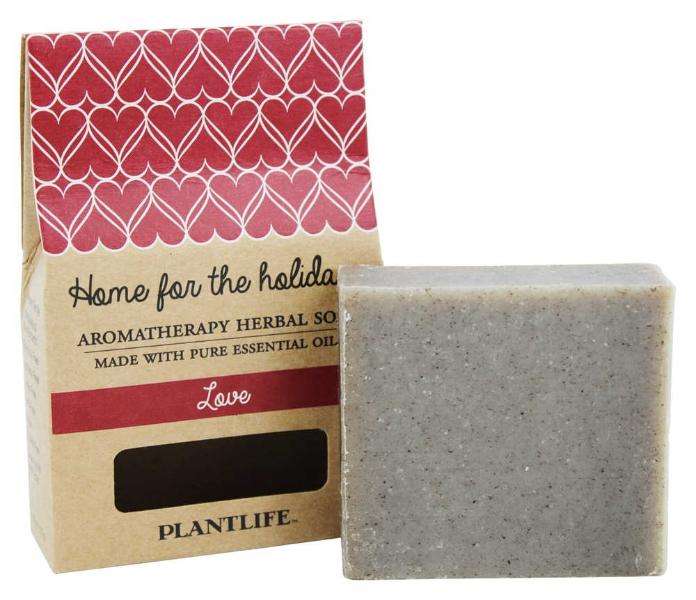 Plantlife Natural Body Care - Aromatherapy Herbal Bar Soap Love - 4.5 oz.