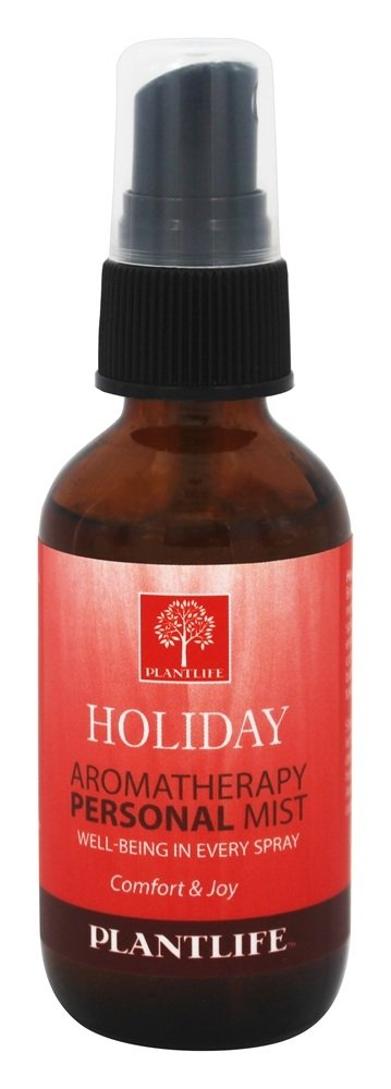 Plantlife Natural Body Care - Aromatherapy Personal Mist Holiday - 2 oz.
