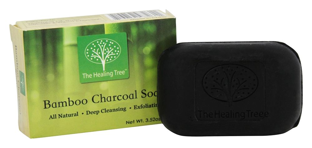 The Healing Tree - All Natural Bamboo Charcoal Soap - 3.52 oz.
