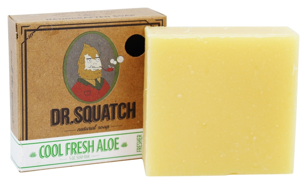 Dr. Squatch - Natural Bar Soap Cool Fresh Aloe - 5 oz.