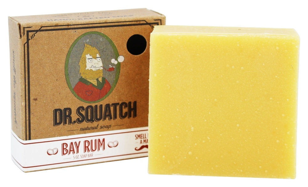 Dr. Squatch - Natural Bar Soap Bay Rum - 5 oz.