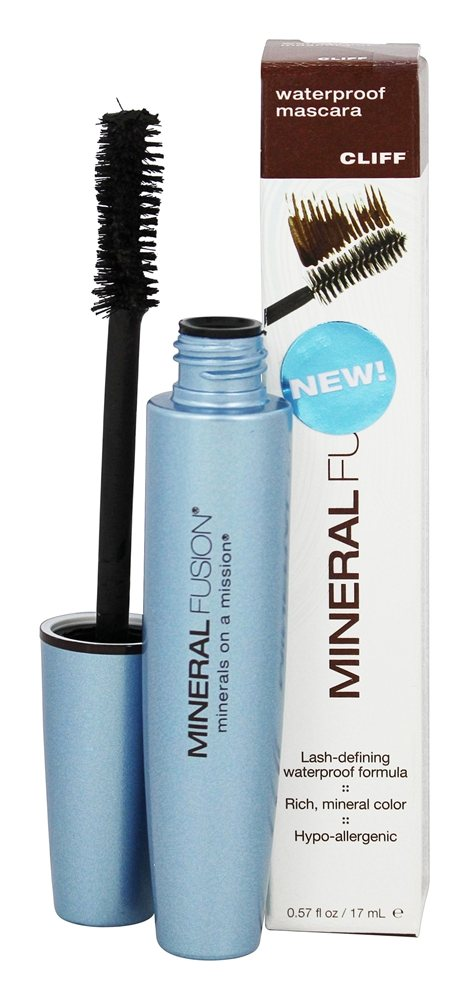 Mineral Fusion - Waterproof Mineral Mascara Cliff - 0.57 oz.
