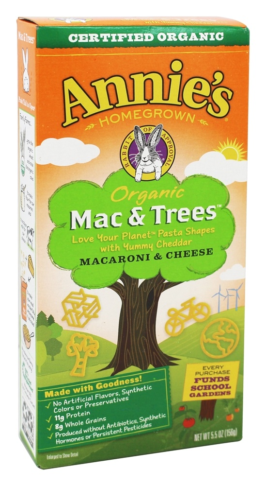 Annie's - Organic Mac & Trees Macaroni & Cheese - 5.5 oz.