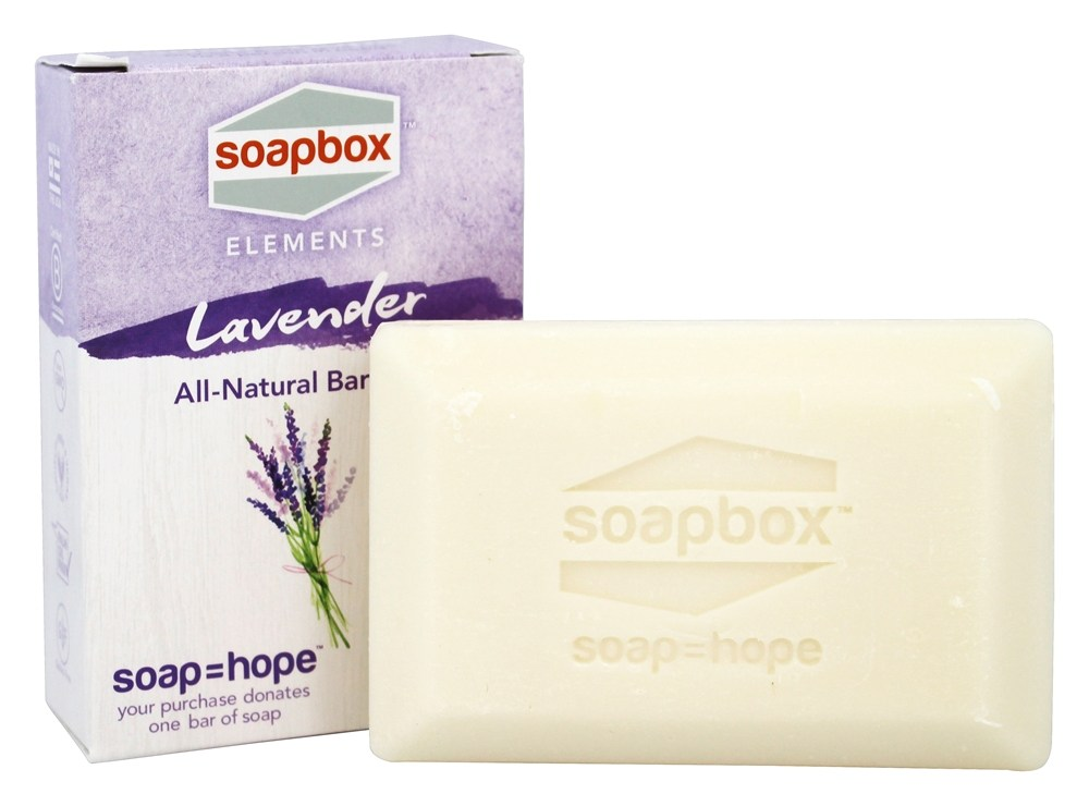 Soapbox Soaps - All Natural Bar Soap Lavender - 5 oz.