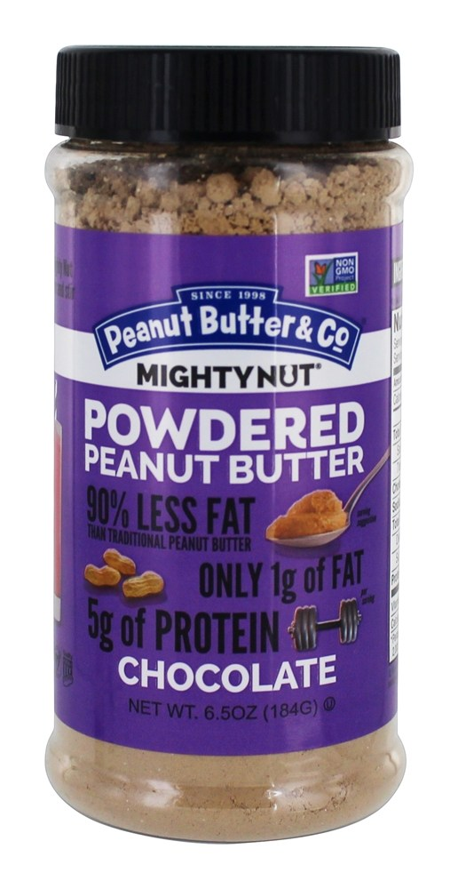 Peanut Butter & Co. - Mighty Nut Powdered Peanut Butter Chocolate - 6.5 oz.
