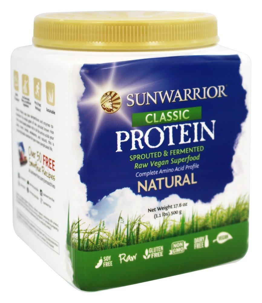 Sunwarrior - Classic Protein Natural - 1.1 lbs.