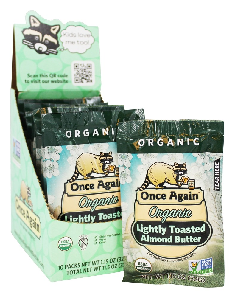 Once Again - Organic Almond Butter Lightly Toasted Creamy - 1.15 oz.