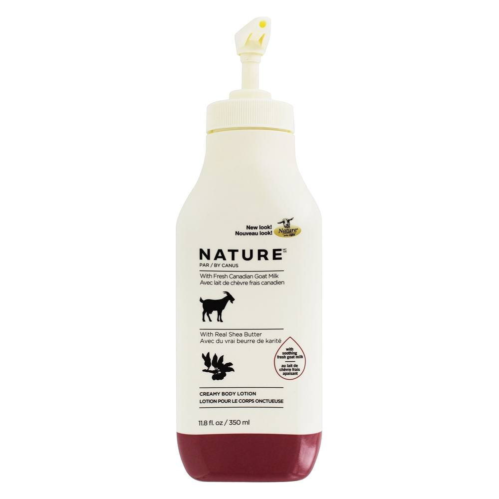 Canus - Nature Moisturizing Lotion with Fresh Goat's Milk Shea Butter - 11.8 oz.