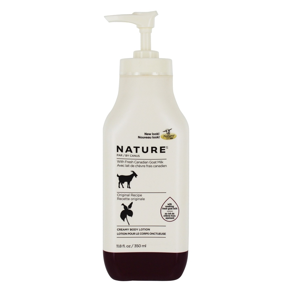 Canus - Nature Moisturizing Lotion with Fresh Goat's Milk Original Formula - 11.8 oz.