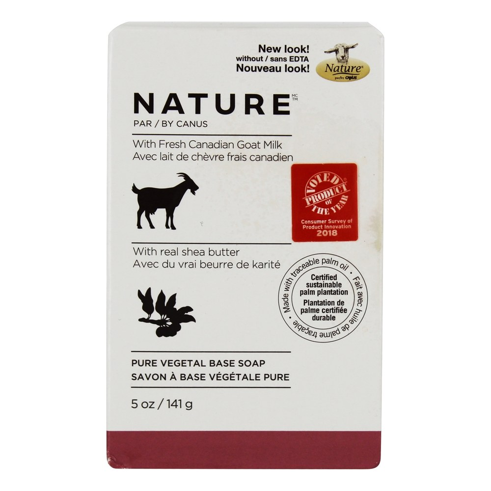 Canus - Nature Pure Vegetable Bar Soap Shea Butter - 5 oz.