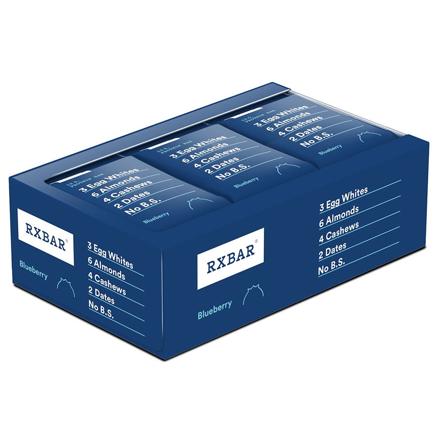 RxBar - Protein Bar Blueberry - 12 Bars