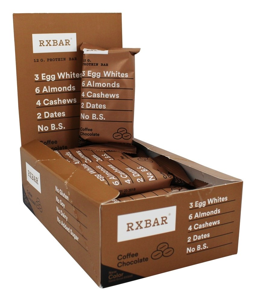 RxBar - Protein Bar Coffee Chocolate - 12 Bars