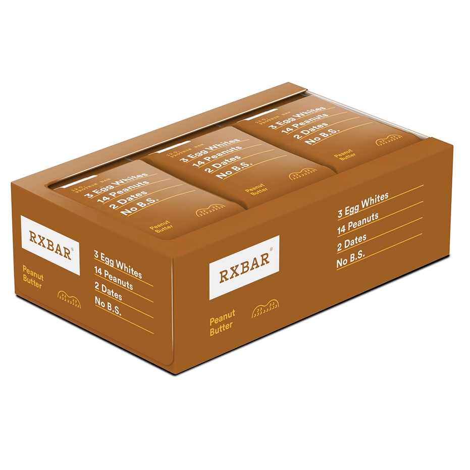 RxBar - Protein Bar Peanut Butter - 12 Bars