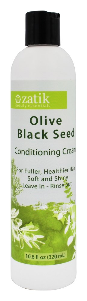 Zatik Beauty Essentials - Olive Black Seed Conditioning Cream - 10.8 oz.